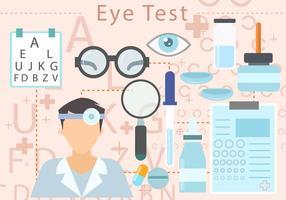 Eye Test Vektor