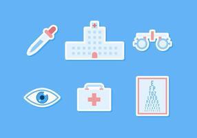 Freie hervorragende Augen-Test-Vektoren