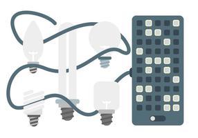 Freie einzigartige LED-Lichter Vektoren