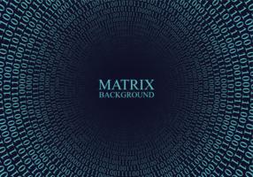 Matrix Bakgrund vektor
