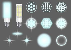 LED-lampor Vector Pack
