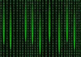 Fallande ljus Matrix Bakgrund Vector