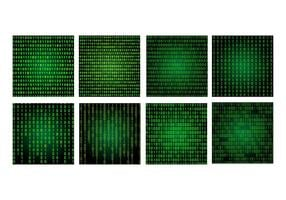 Matrix Hintergrundpaket vektor