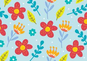 Blumenmuster Vektor