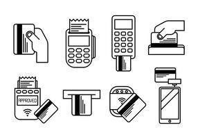 Kartenleser Vector Icons