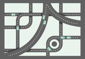 Free Unique Roadmap Vektoren