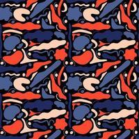 abstrakta sömlösa mönster geometriska former vektor