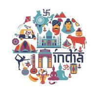 indisk arkitektur, asiatiska traditioner, ikoner och symboler