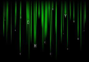 Fallende Buchstaben Matrix Baground Free Vector