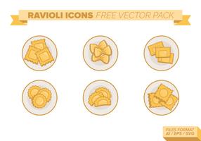 Ravioli frei Vektor Packung