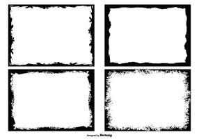 Grunge Photo Edges Collection vektor
