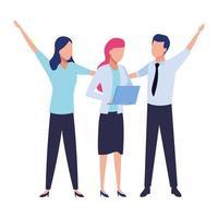 affärsmän och samarbetskoncept