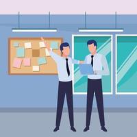 Geschäftspartner mit Dokumenten