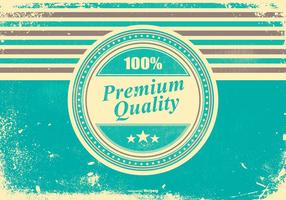 Retro Grunge Premium Hintergrund vektor
