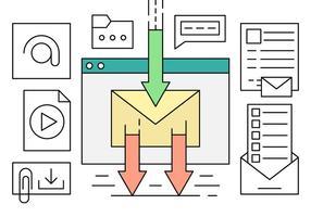 Linjär e-postmarknadsföring
