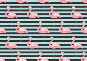 Sommer Flamingo Vektor Hintergrund