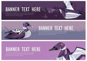Web Banner Loon Vektor