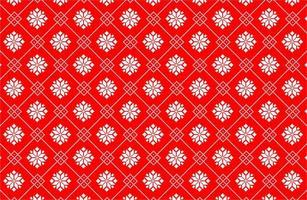 Weihnachtsstern Pixel Muster