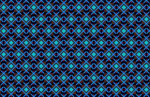 rote und blaue Rippenformen Stoffmuster