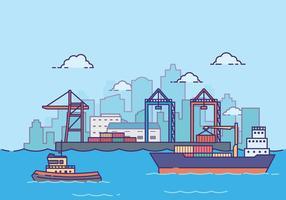 Freie Shipyard Illustration