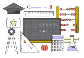 Kostenlose Bildungs-Vektor-Sammlung vektor