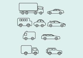 Geometrische Autos