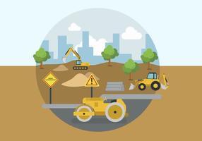 Platt byggarbetssektorer