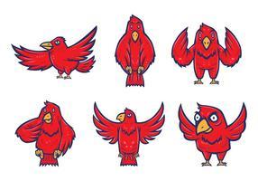 Free Falcons Maskottchen Vektor