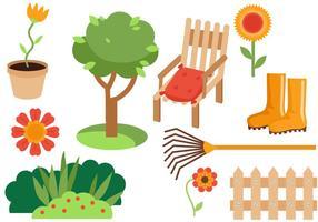 Freier Garten 2 Vektoren