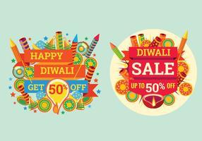 Bunter Kracher für Diwali Verkauf Feier