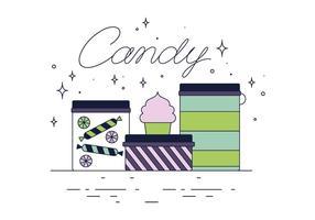 Gratis Candy Vector