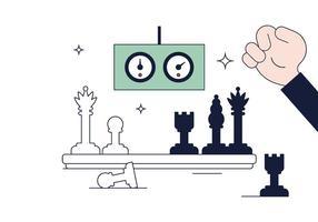 Freier Schach Vektor