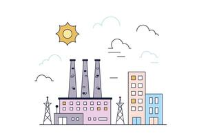 Freie Fabrik Vektor