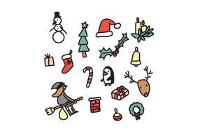 Weihnachten Elemente