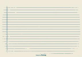 Grunge-Stil Hinweis Papier Hintergrund