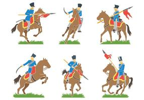 Kavallerie Vektor Icons