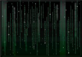 Matrix Dunkler Hintergrund