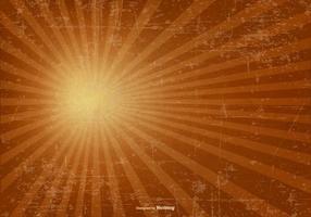 Sunburst Grunge Hintergrund