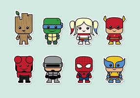 Superhelden-Vektor