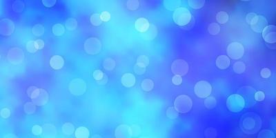 ljusblå bakgrund med bubblor.