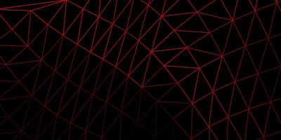 mörk röd poly triangel konsistens. vektor