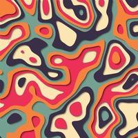 Papier ausgeschnitten Hintergrund in lebendigen Farben vektor
