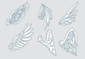 Engel Flügel Vektor Symbole