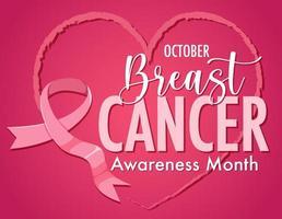 Brustkrebs-Bewusstseinsmonatslogo