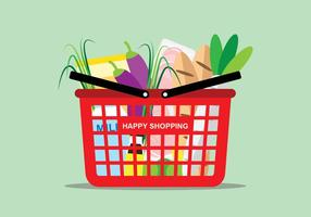 Shopping Livsmedel vektor