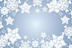 snöflinga med olika stilvarianter