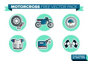 Motorcross kostenlos vektor pack