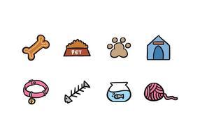 Husdjur ikon pack