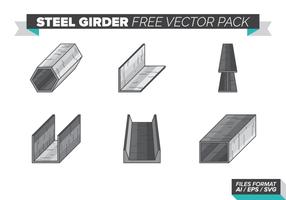 Stål Girder Gratis Vector Pack