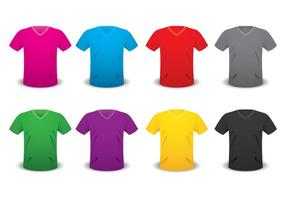 V-Ausschnitt-Hemd-Schablone
